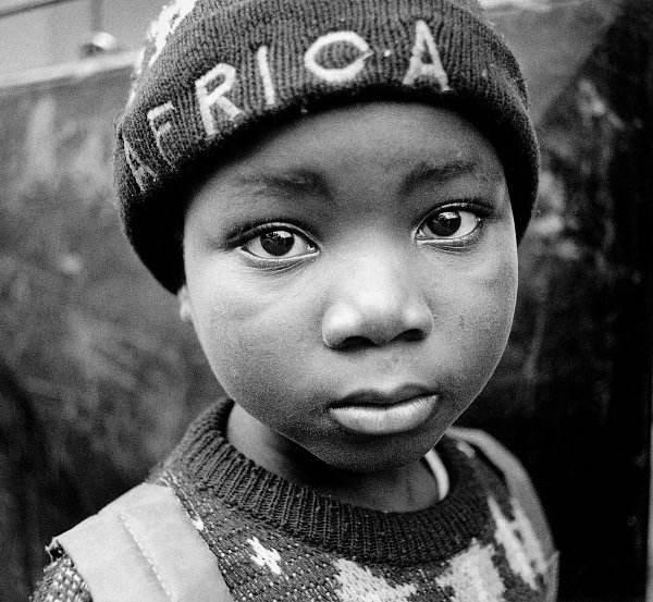 Çocuklar Afrikada Ibrahim Tenekeci