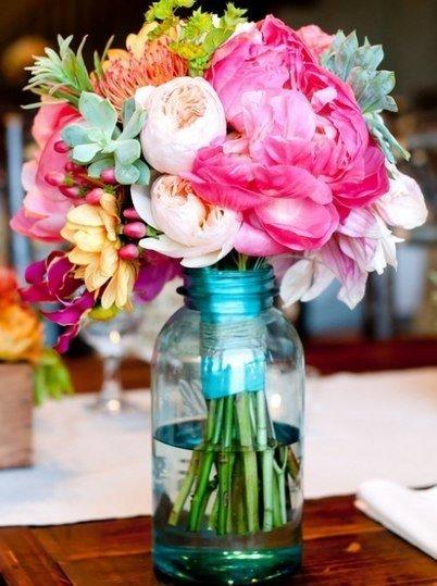 vazoda rengarenk çiçek resimleri