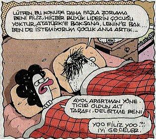 iyi geceler karikatürü
