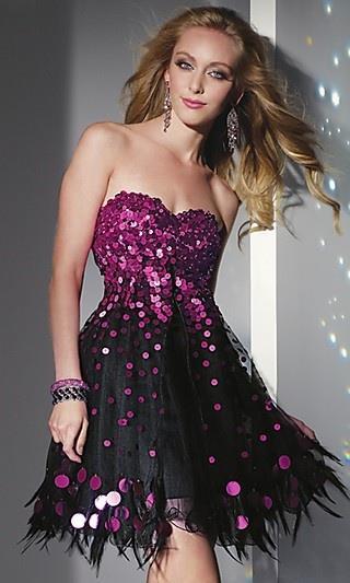 ışıltılı mini gece elbise modelleri