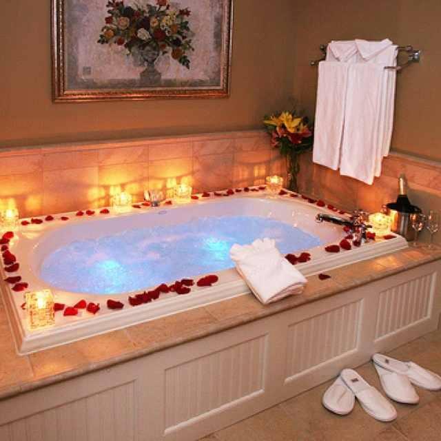 modern şık romantik banyo modelleri