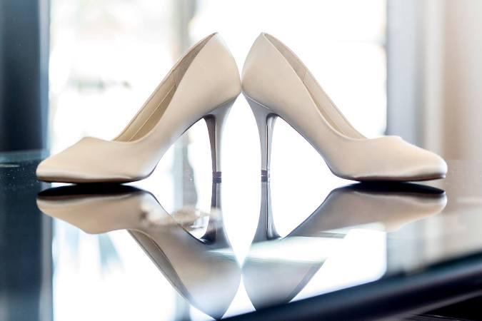 ten rengi gelin ayakkabı modelleri