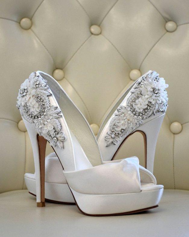 yeni trend gelin ayakkabı modelleri