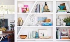 Modern Dekoratif Kitaplık Modelleri
