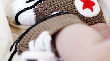 Yeni Sezon Modern Örgü Bebek Patikleri