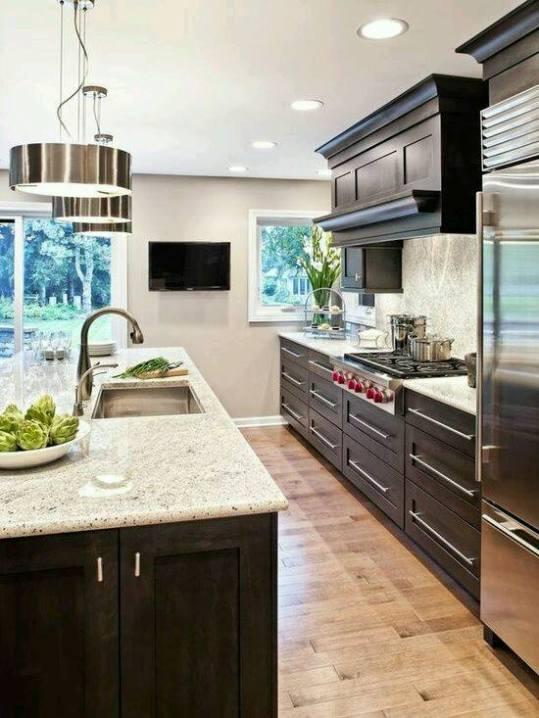 ferah görünümlü modern mutfak dizayn trendleri
