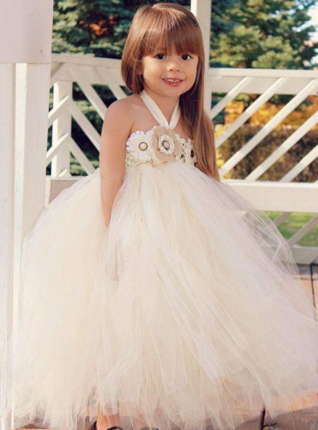 harika tasarlanmış kabarık kız çocuk gelinlik çeşitleri