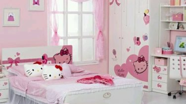 Sevimli  Kız Çocuk Odaları