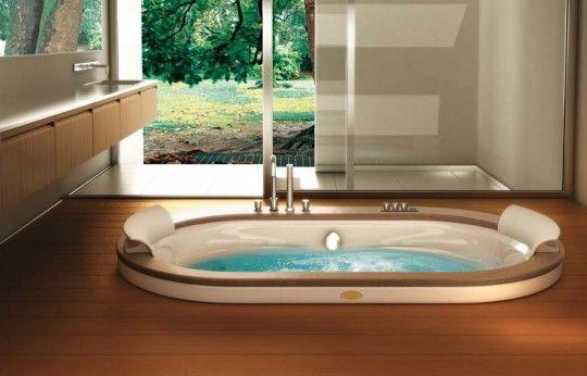 oval ve modern jakuzi tasarım örnekleri