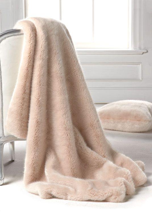 pudra renkli harika soft battaniye modası