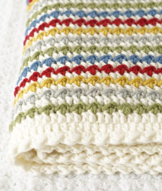 rengarenk çok zarif battaniye örnekleri