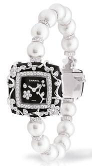 sıradışı tasarlanmış modern bayan incili saat çeşitleri