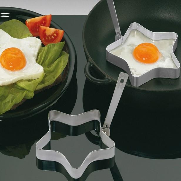 son moda şık yıldızlı yumurta pişirme kalıpları