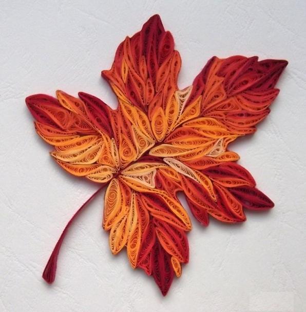 sonbahar yaprak tasarımlı duvar süsleri