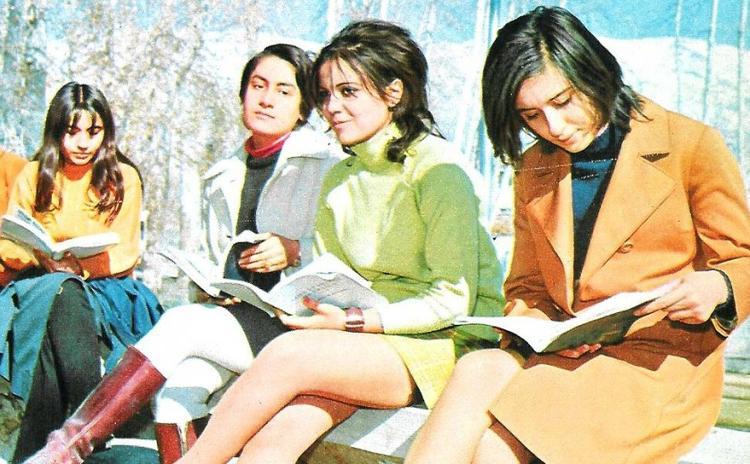 İran'da Humeyni öncesi genç kızlar