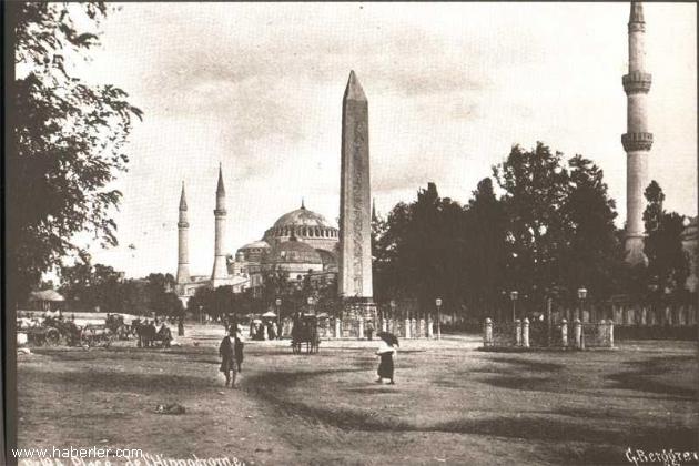 İstanbul Dikilitaş'tan bir kare