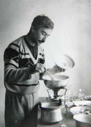 Şener Şen'in yıllar önceki bir fotoğrafı