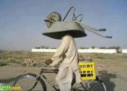 El arabası bisiklet ile taşınır mı