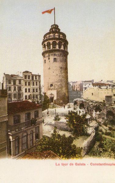 Galata Kulesi'ne ait bir kare