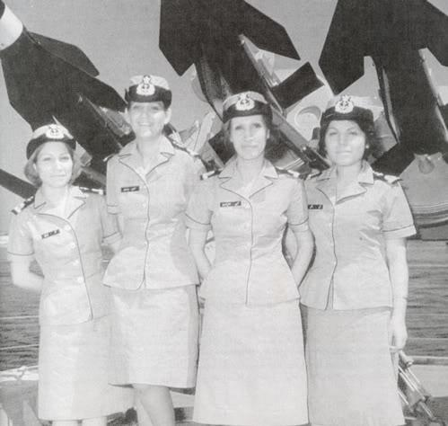 Humeyni'den önce İranlı kadın pilotlar