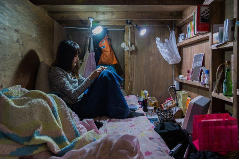 Küçücük odalarda yaşamak
