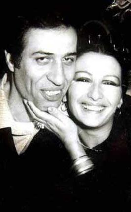 Kemal Sunal ve eşi Gül Sunal