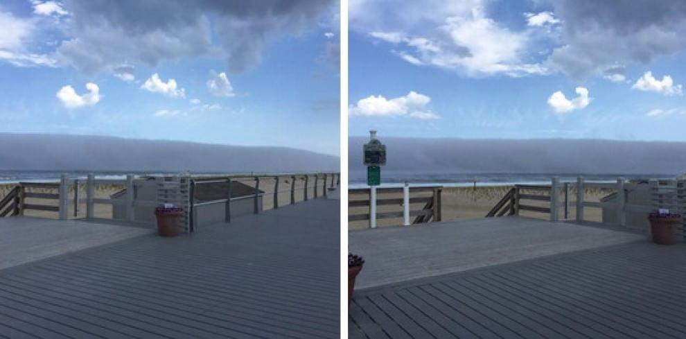 Yaklaşan tsunami Amerika New Jersey