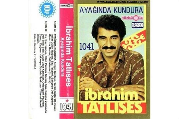 İbrahim Tatlıses'in ilk albüm kapağı