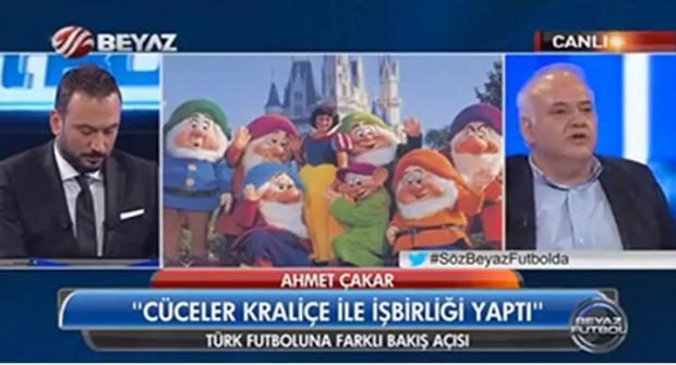 Ahmet Çakar'ın ilginç 7 cüceler benzetmesi