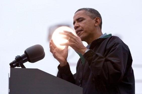 Başkan Obama ve kristal küresi