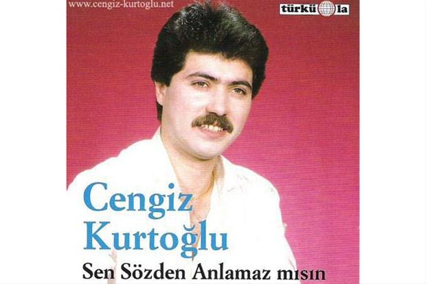 Cengiz Kurtoğlu'nun ilk albüm kapağı