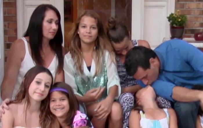 Dört kişilk aile iken sekiz kişi oldular