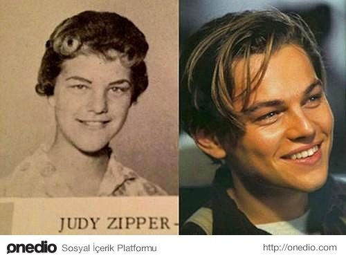 Judy Zipper ve Leonardo DiCaprio