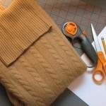 Kazaktan eldiven bere yapılışı için gerekli malzemeler