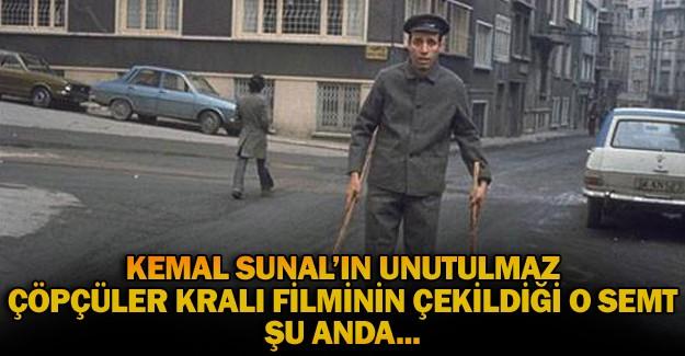 Kemal Sunal'ın Çöpçüler Kralı Filmi