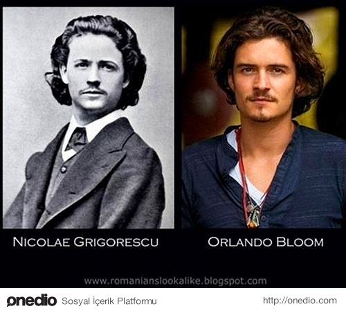 Nicolae Grigorescu ve Orlando Bloom