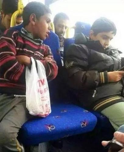 Otobüste yaşanan hüzünlü anlar