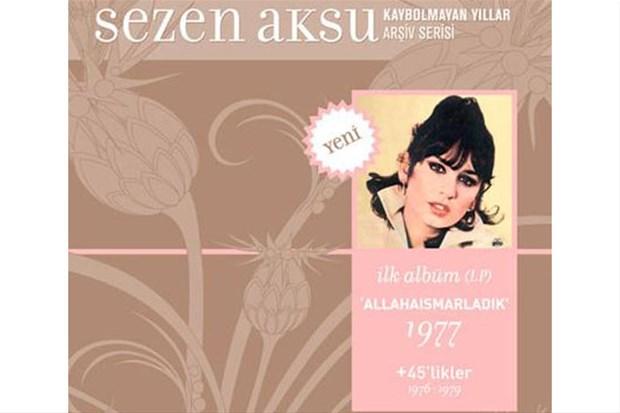 Sezen Aksu'nun ilk albüm kapağı