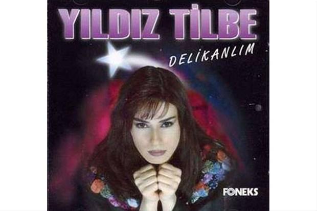 Yıldız Tilbe'nin ilk albüm kapağı