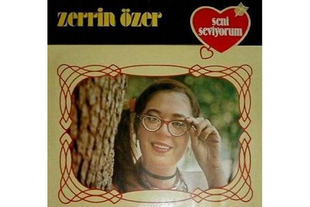 Zerrin Özer'in ilk albüm kapağı