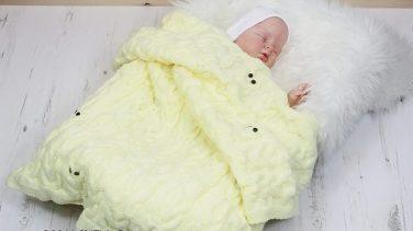 En Güzel Örgü Bebek Battaniyesi Modelleri