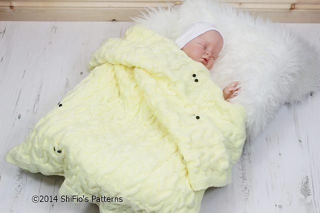 Örgü modelleri ve bebek battaniyeleri