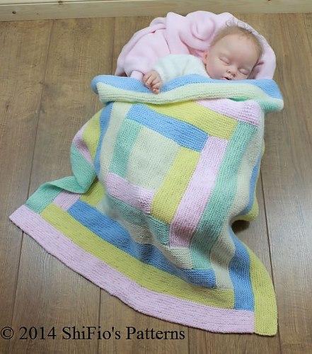 Şık bebek battaniyesi modelleri