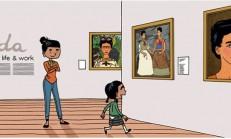 """Frida İle Sıcacık Bir Tanışma Öyküsü : """"Frida da Benim Gibi Tuhafmış!"""""""