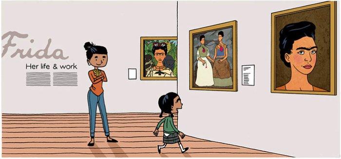 15 Frida ile tanışan kızın yaşam hikayesi