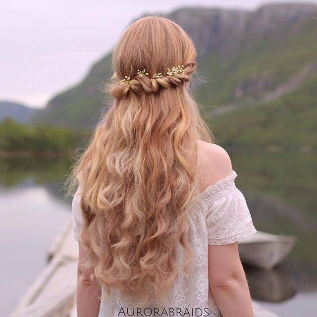 Dalgalı saç modellerine örnekler