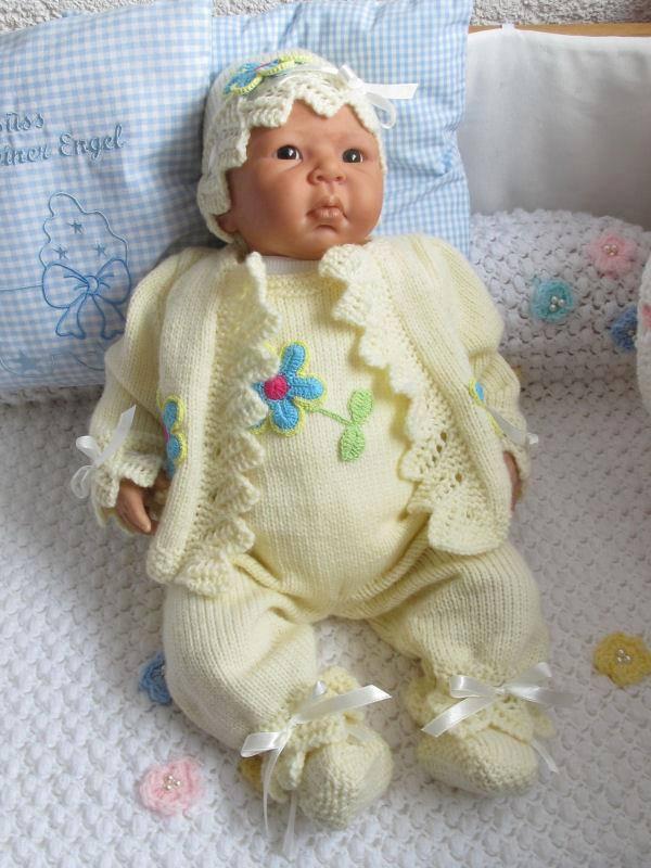 En güzel örgü bebek tulumu modelleri