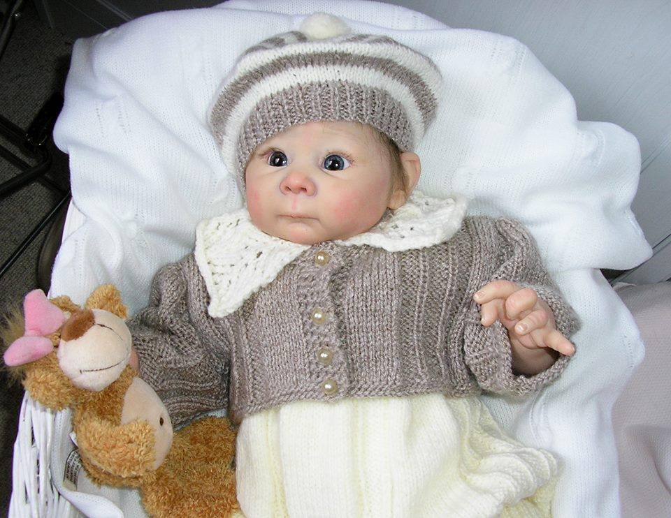 En güzel bebek örgü örnekleri
