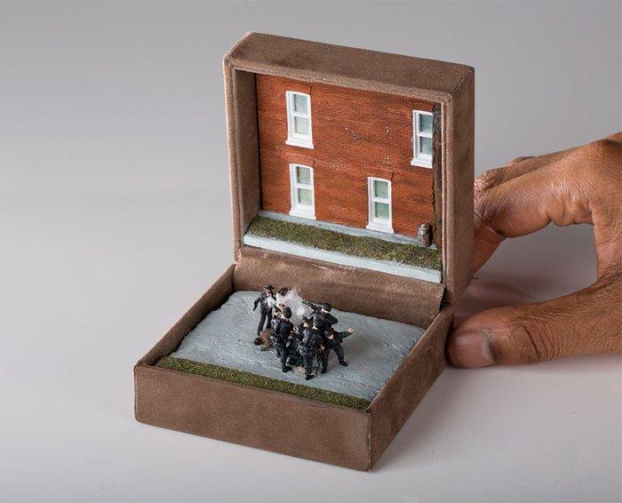 Tarihi olayların minyatür sanatı ile buluşması