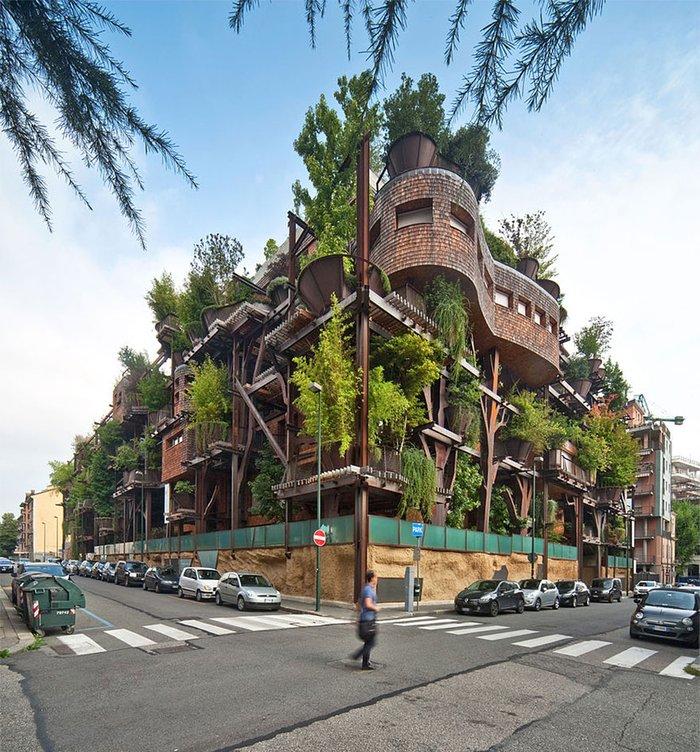 Torino'da bir apartman